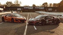Acura NSX Versus NSX GT3 Evo