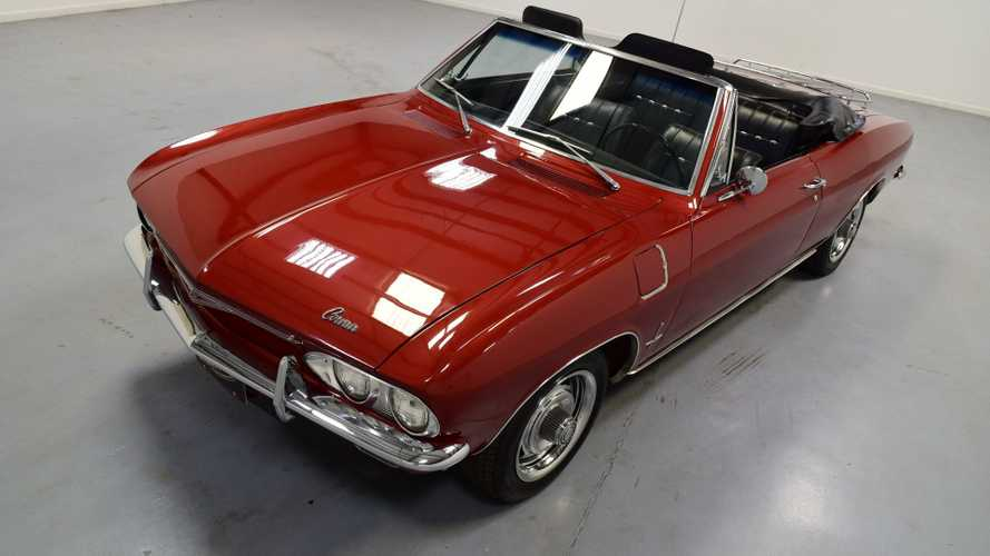 Air-Cooled Cruiser: 1966 Chevrolet Corvair Convertible