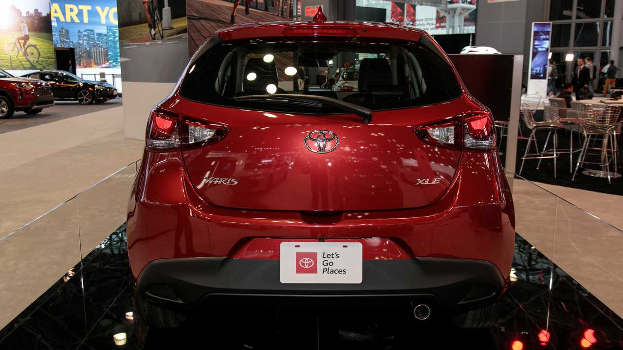 2020 Toyota Yaris Hatchback Live Photos 8 of 25 | Motor1 ...