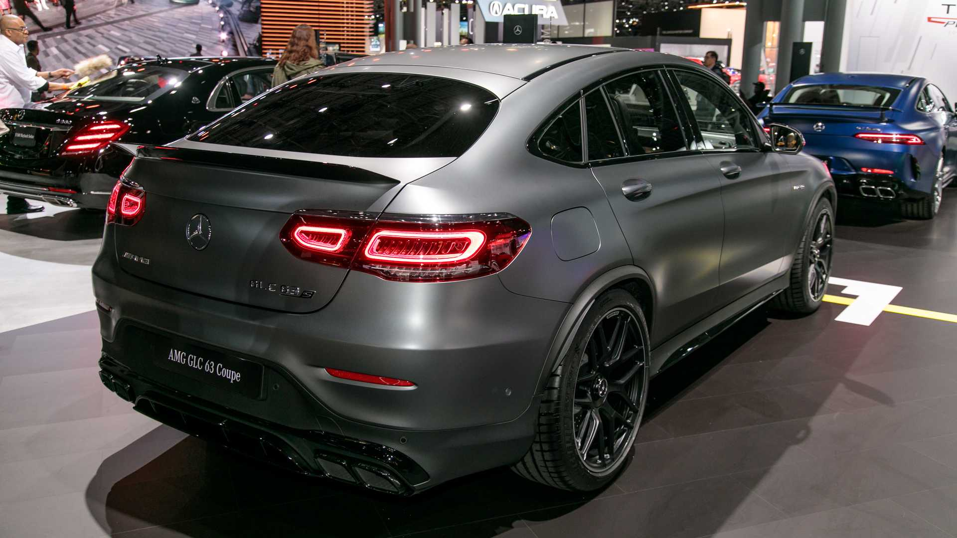 Mercedes-AMG GLC 63, 63 Coupe Introduce Their Ample Power ...