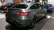 2019 Mercedes-AMG GLC 63 Coupe Live Images