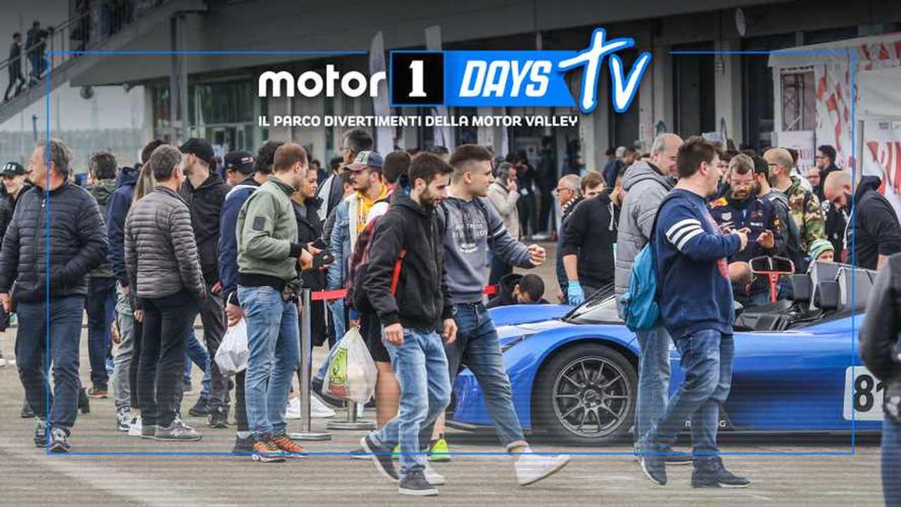 Copertina 4 Motor1Days, la terza edizione è anche in diretta streaming