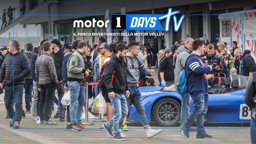 Motor1Days 2019, le dirette dal paddock