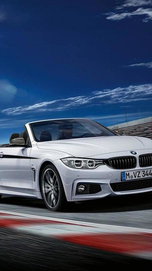 BMW 4-Series Convertible gains M Performance Parts