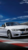 BMW 4-Series Convertible with M Performance Accessories