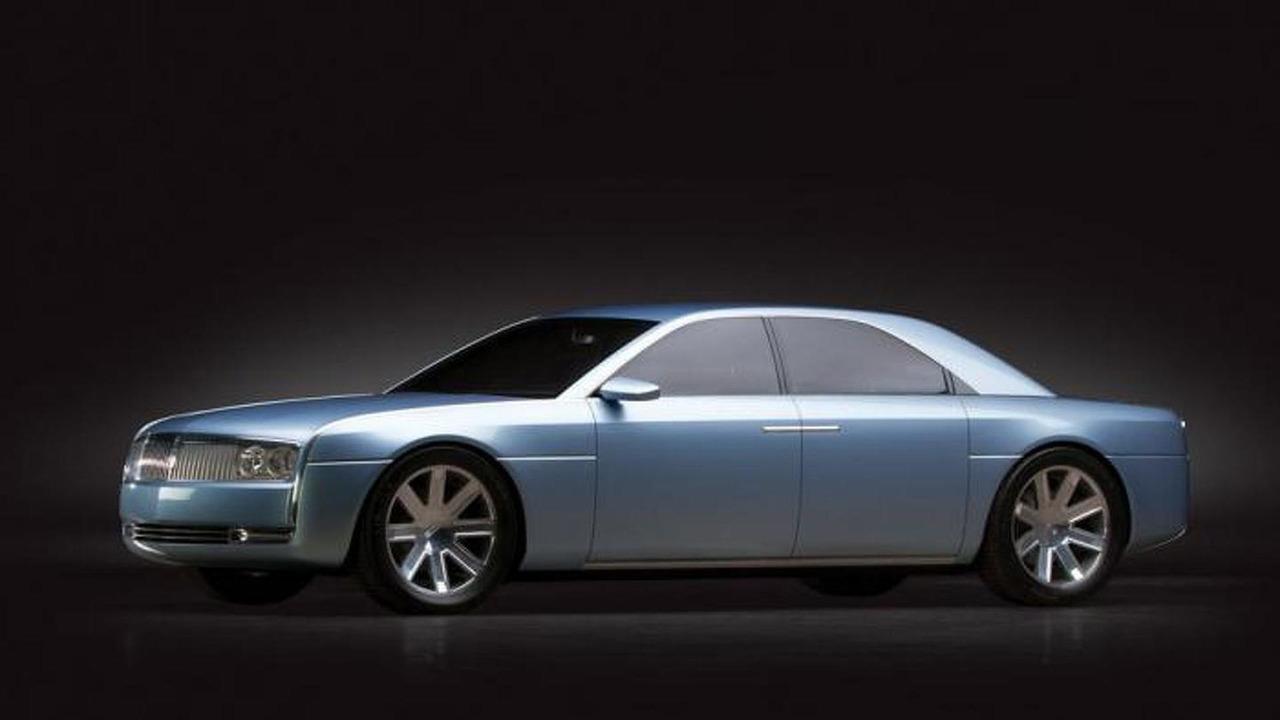 2002 Lincoln Continental concept