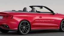 Audi RS3 Cabriolet rendering / Theophilus Chin