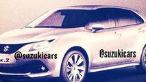 Suzuki iK-2 concept leaked image / SuzukiCars