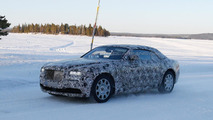 Rolls-Royce Wraith Drophead Coupe spy photo