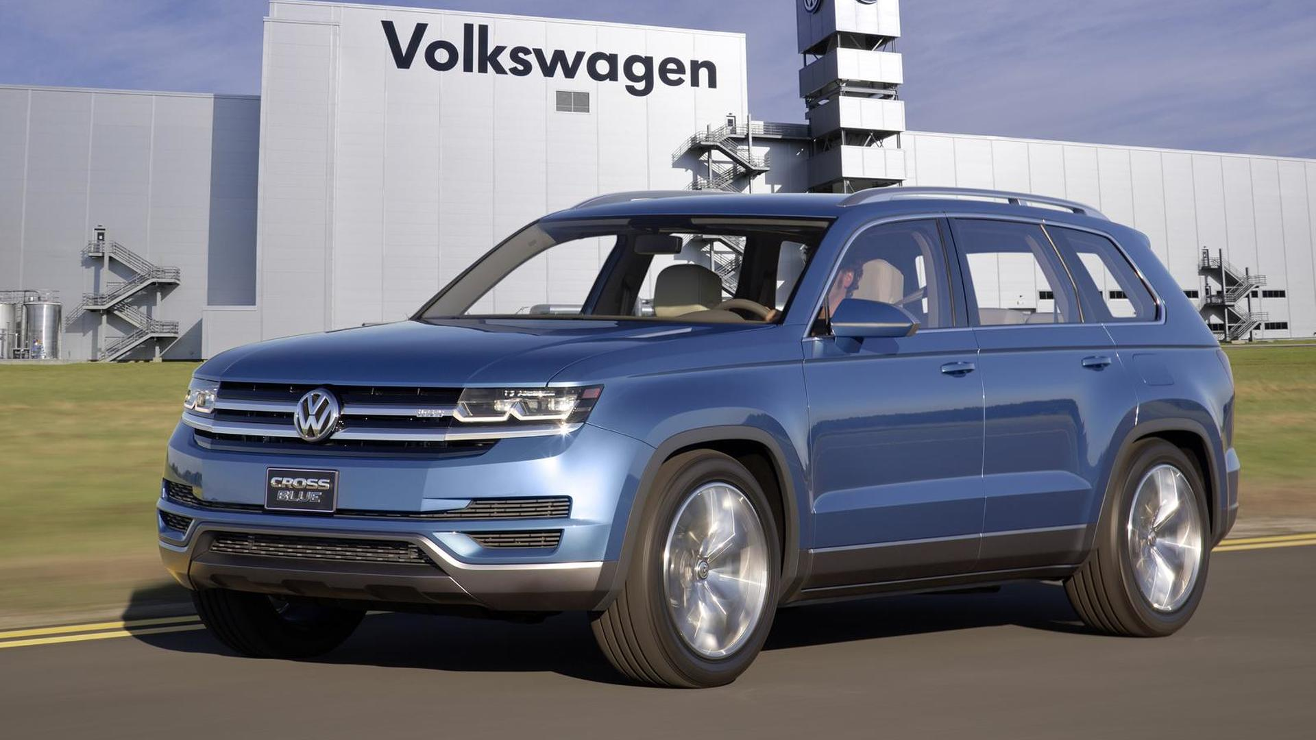 Vw Of America >> Vw Of America Gets To Bestow Name On New Suv