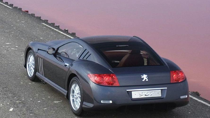 La Peugeot 907 V12 du Mondial 2004