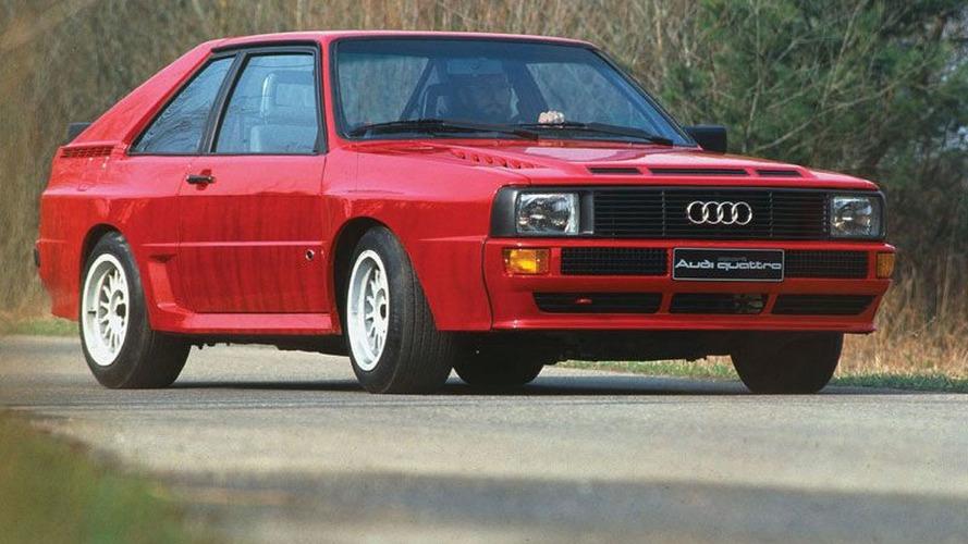 Audi Sport Quattro replica at Isle of Man [video]