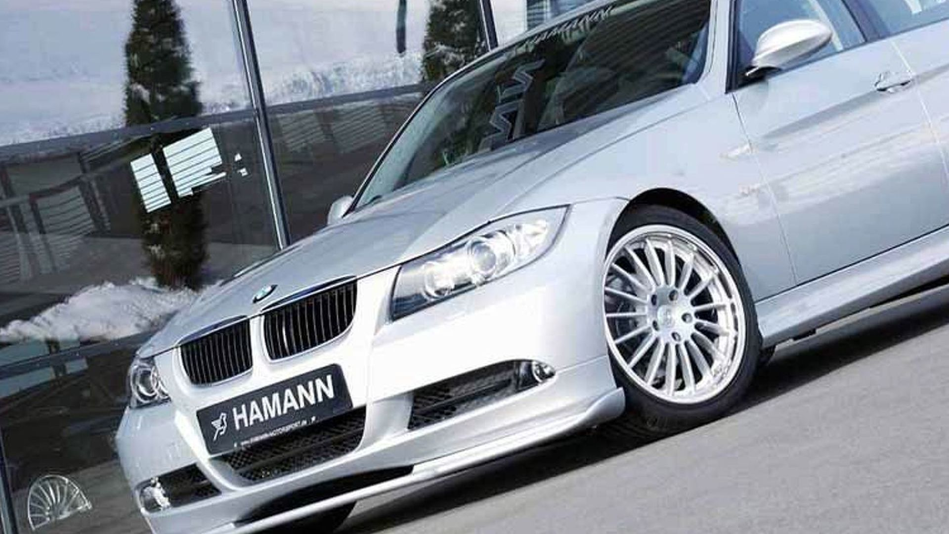 Hamann Accessories For The New Bmw 3 Series Sedan Motor1 Com Photos