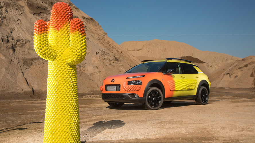 Le Citroën C4 Cactus rhabillé pour la Design Week de Milan