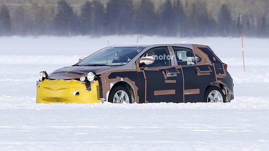Photos espion - Drôle de déguisement pour la Toyota Auris