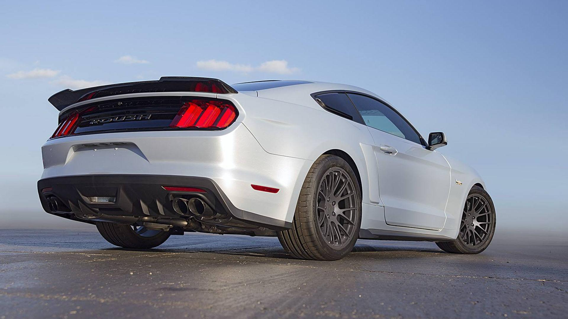 Roush reveals p 51 mustang tribute its most powerful model ever