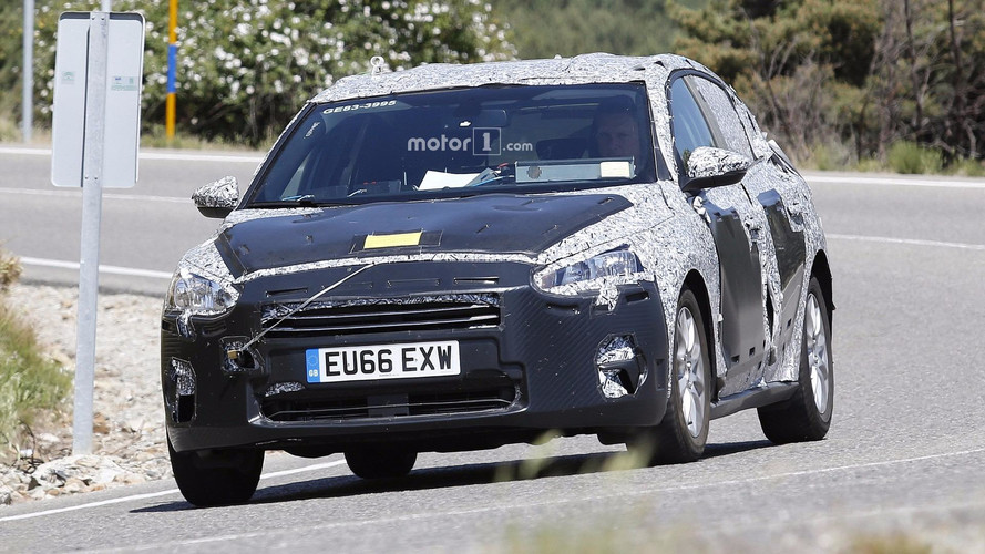 2019 Ford Focus new spy photos