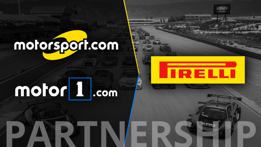 Pirelli World Challenge Announces Motorsport Network as 'Official Digital Media Partner'