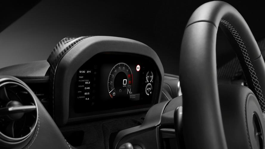 Un écran pliable pour la nouvelle McLaren Super Series