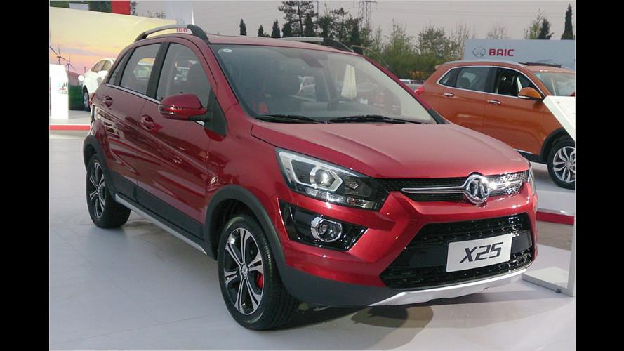 Drei neue China-Modelle für Deutschland