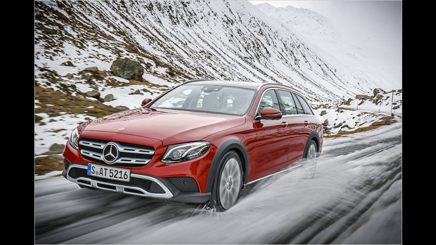 Mercedes E 220 d 4Matic All-Terrain im Test