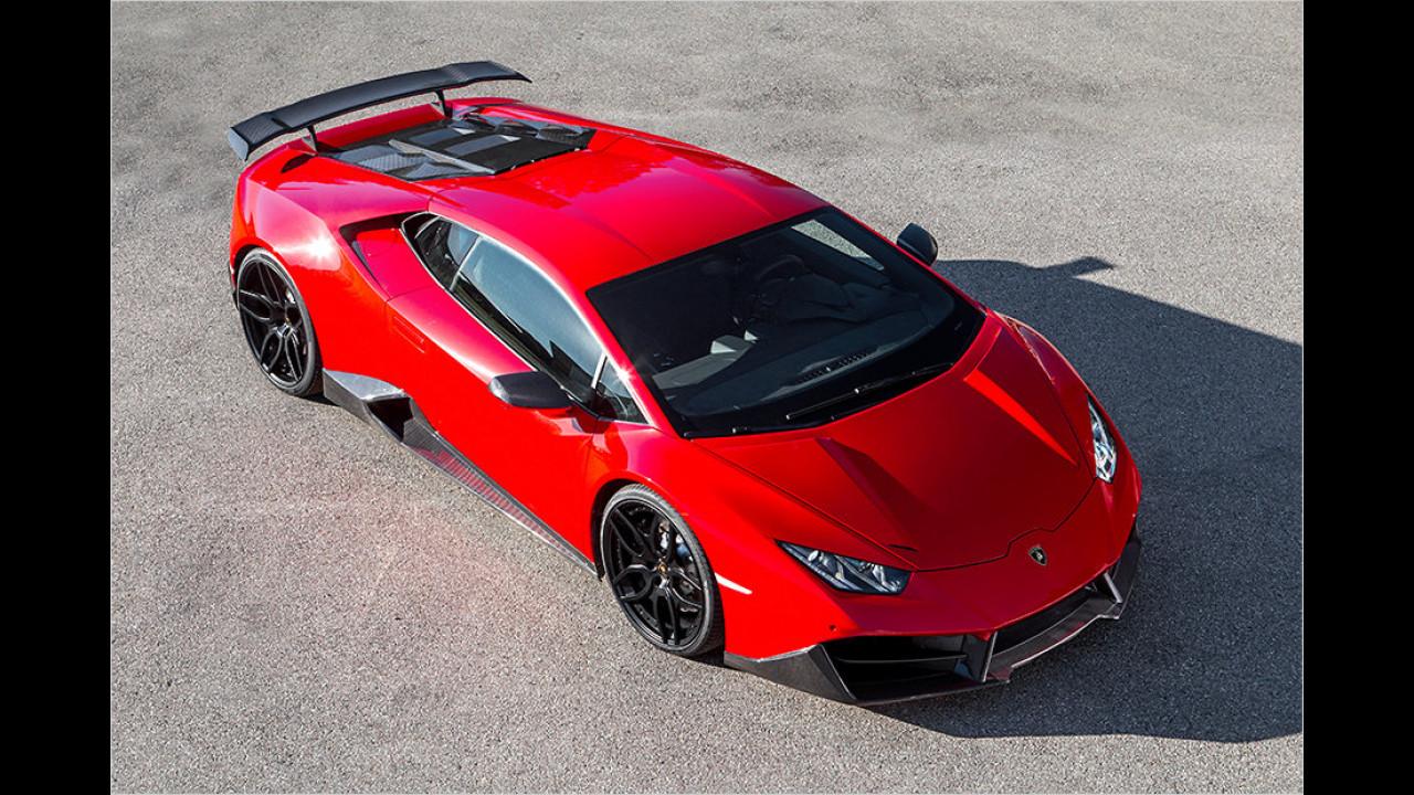 Lamborghini Huracán LP 580-2 von Novitec Torado