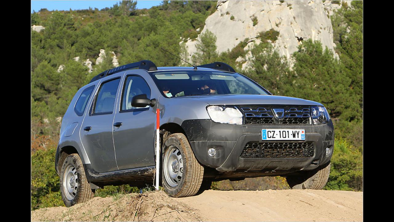 Dacia Duster SCe 115 4x4: 15.390 Euro