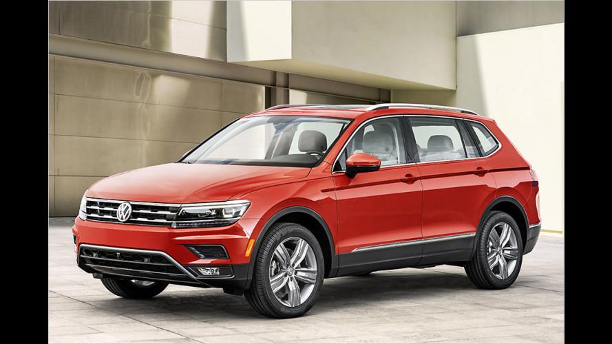 Volkswagen zeigt Tiguan Allspace