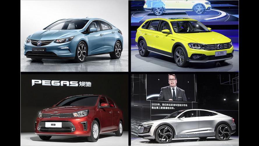 Auto Shanghai 2017: Die wichtigsten Neuheiten