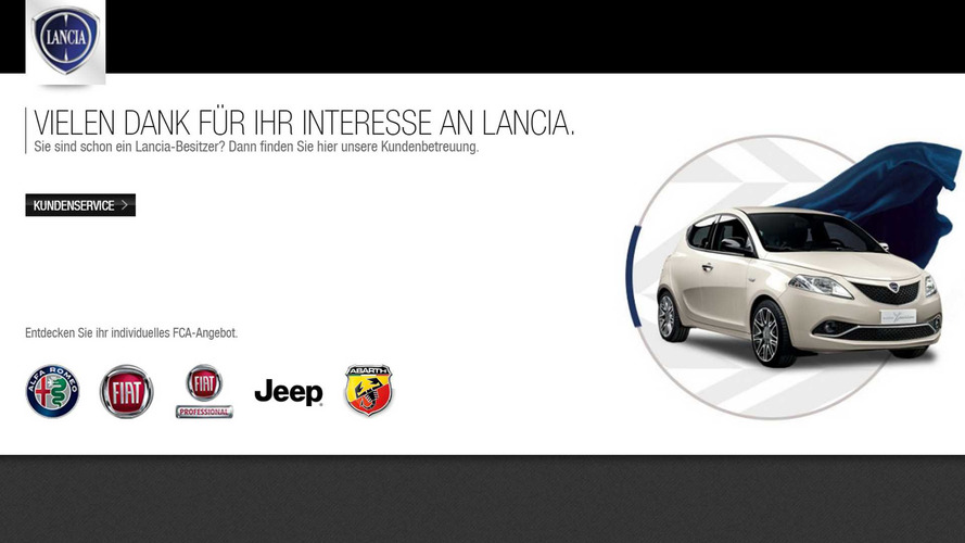 Lancia To Sell In Italy Only, Shuts Down Other Euro Web Sites