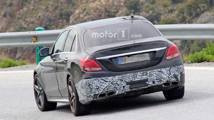 2018 Mercedes-AMG C63 Sedan spy photo