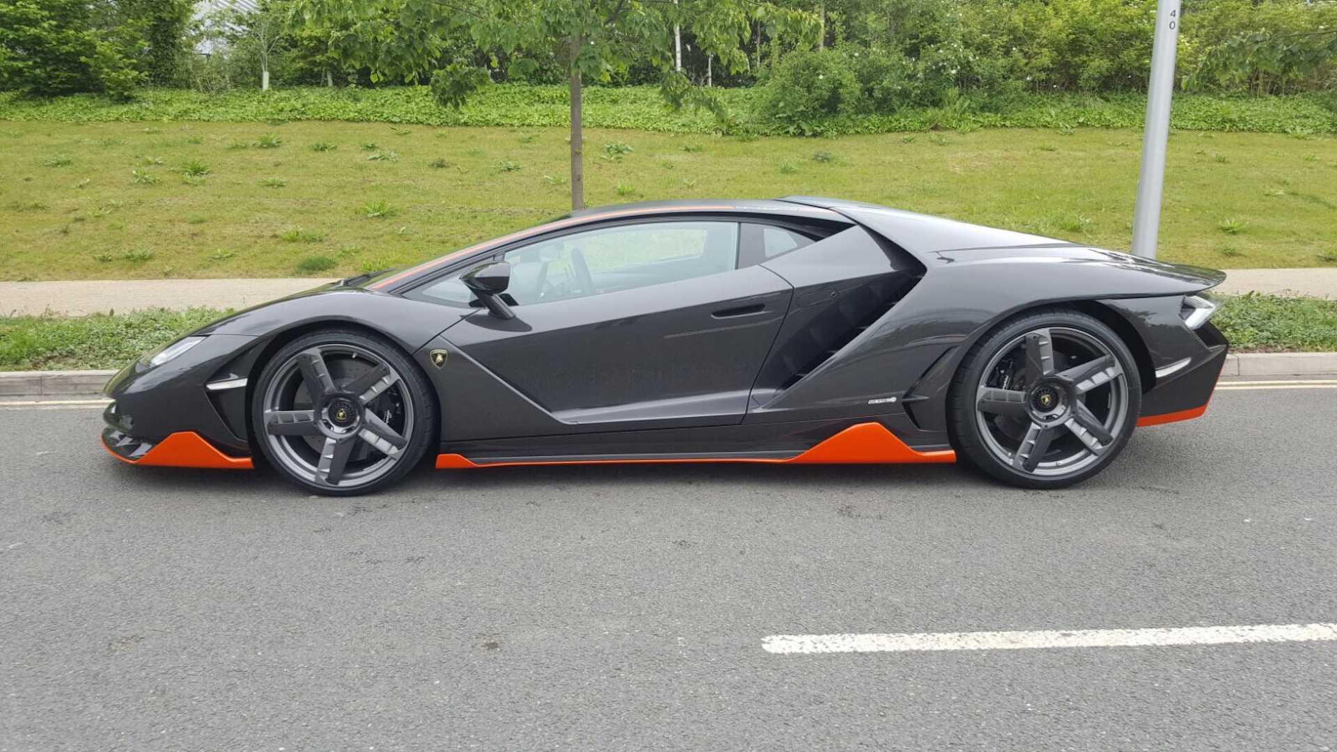 Uk S First Lamborghini Centenario Arrives In London