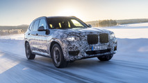 BMW X3 2018 - Ensaio na neve