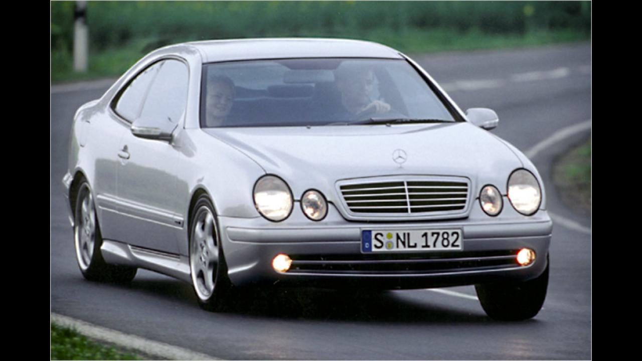 1997-2002: Mercedes CLK C 208