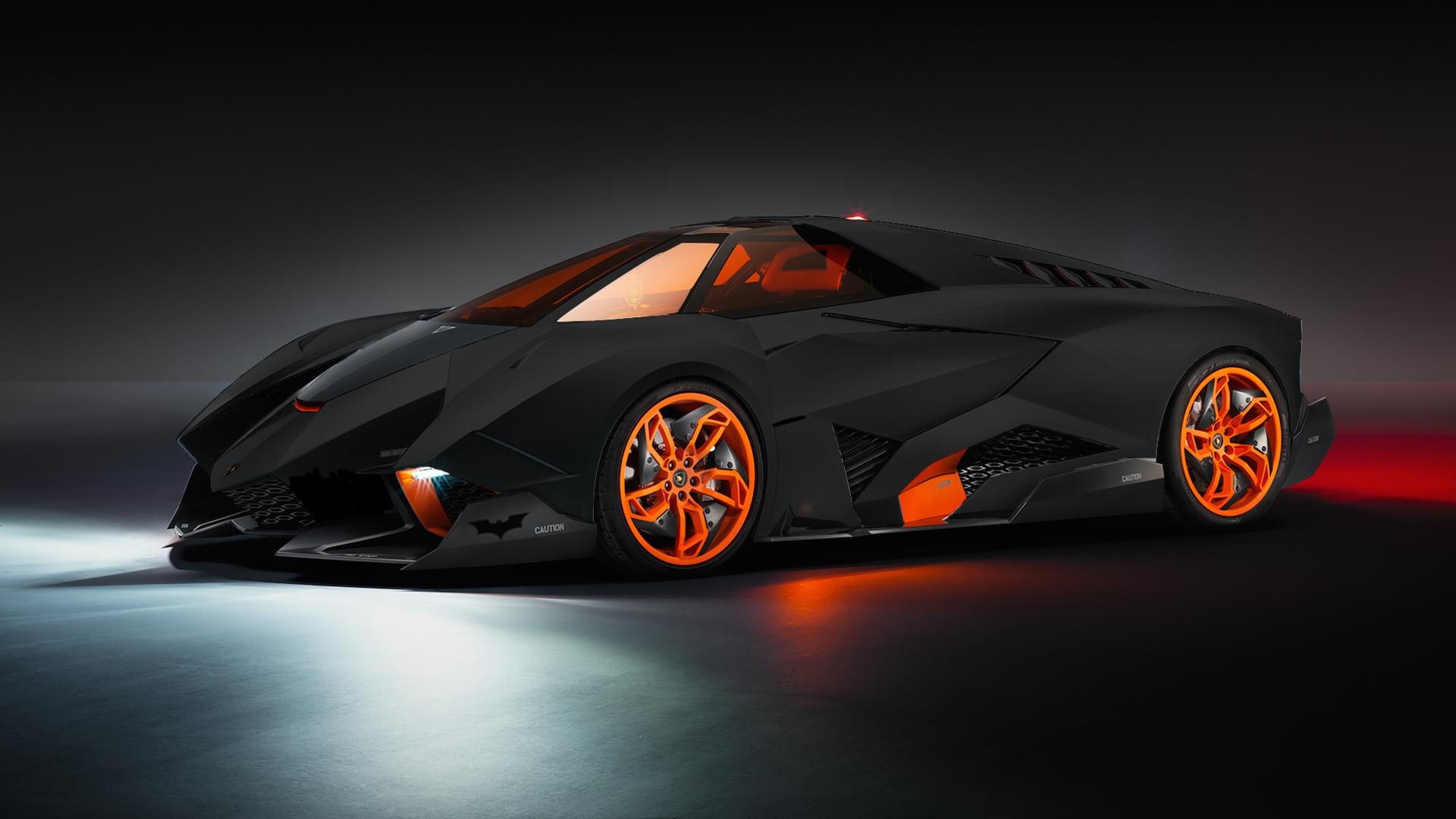 Lamborghini Egoista Batmobile Edition Photo Specs