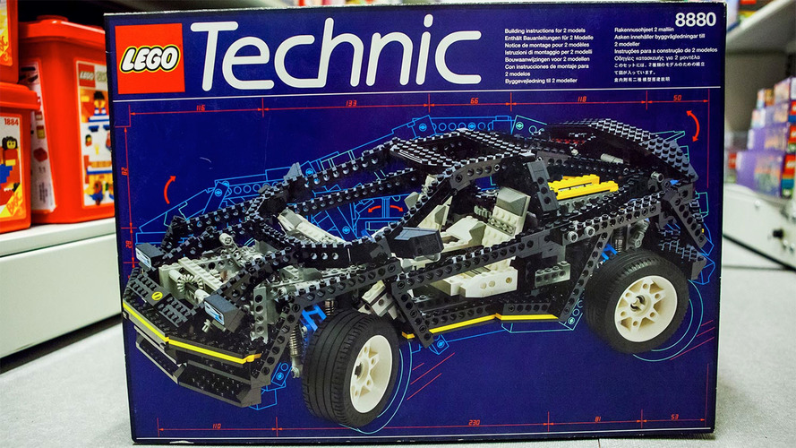 The Lego Technic Car I Always Wanted Now Costs A Thousand Bucks