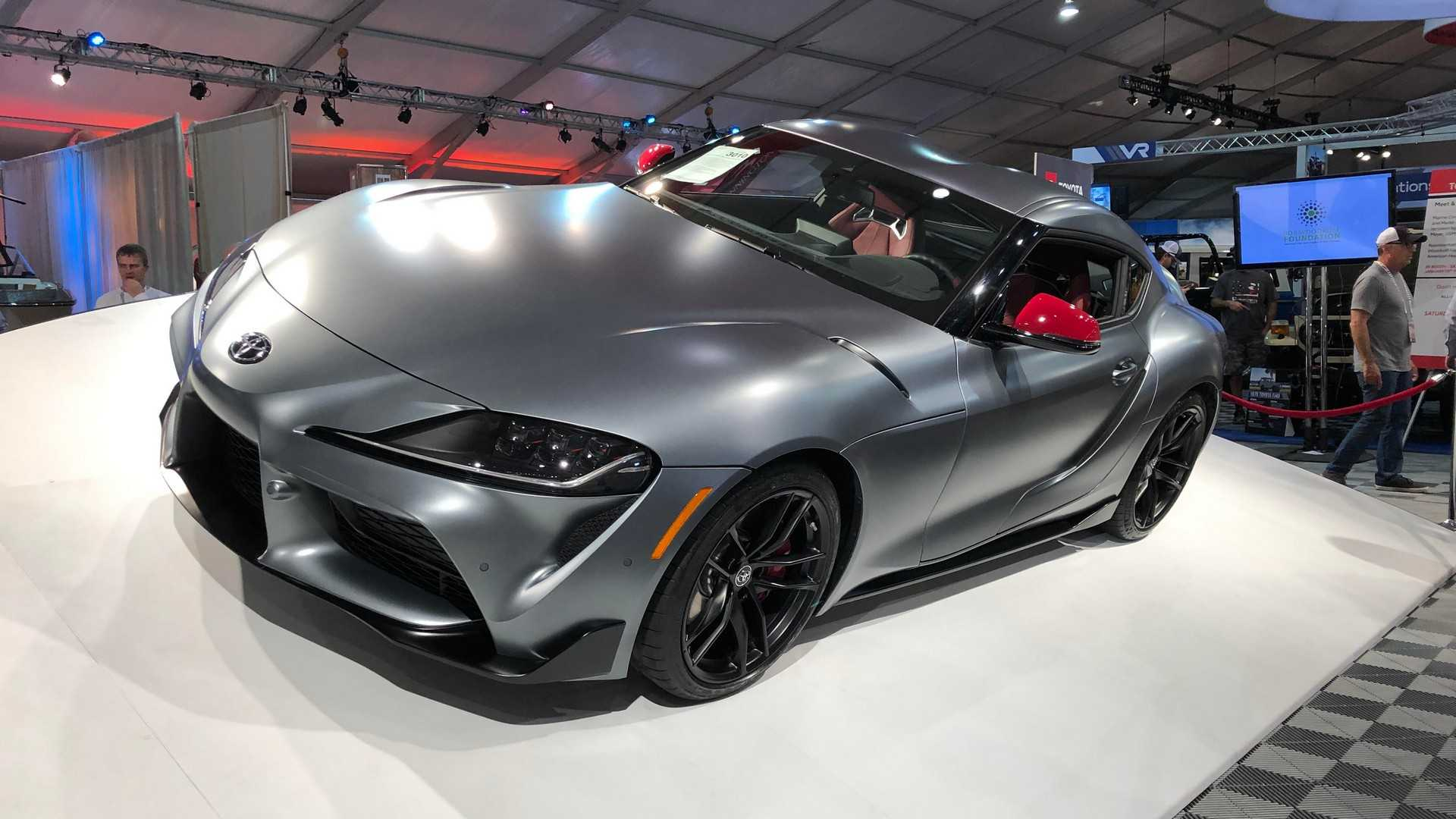 "[""First Production 2020 Toyota Supra Sold At Auction""]"