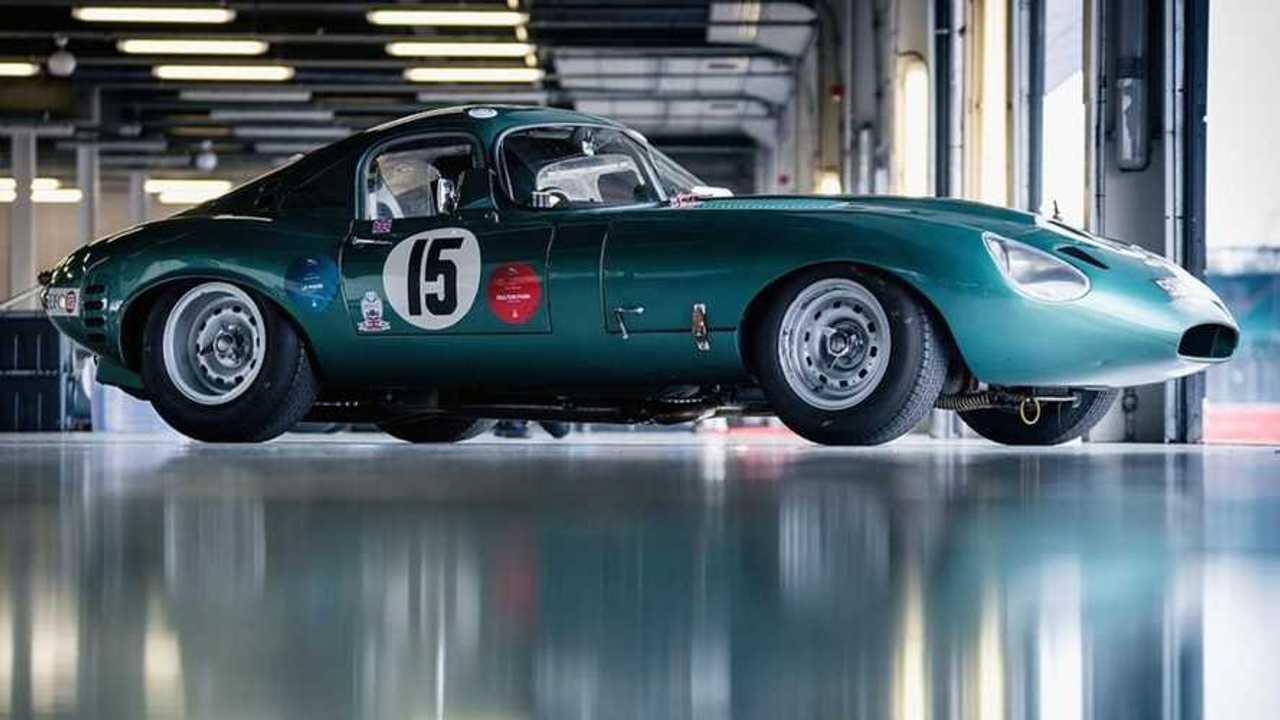 Jaguar E-type Low Drag Coupé replica