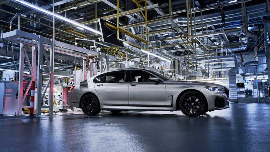 2020 BMW 7 Series Facelift production start at Dingolfing factory