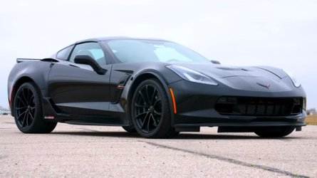 1,008-HP Corvette Grand Sport Hennessey Sounds Ferocious