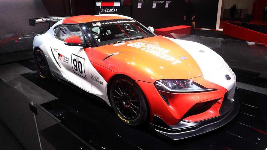 Toyota GR Supra GT4 Concept, pronta per le gare