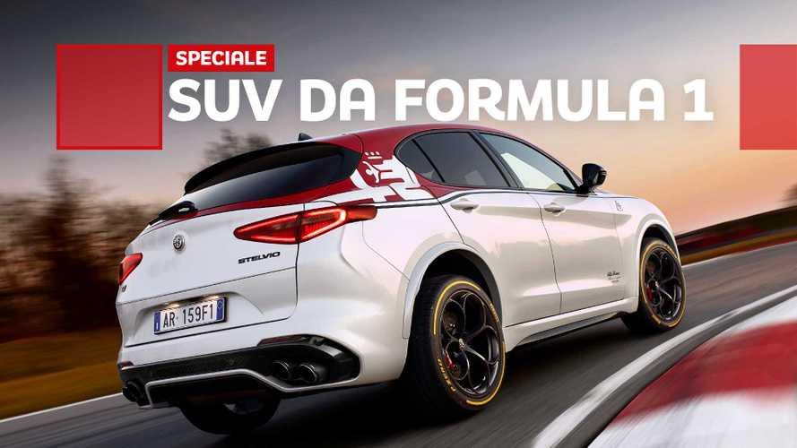 Stelvio Quadrifoglio Alfa Romeo Racing, il SUV da corsa