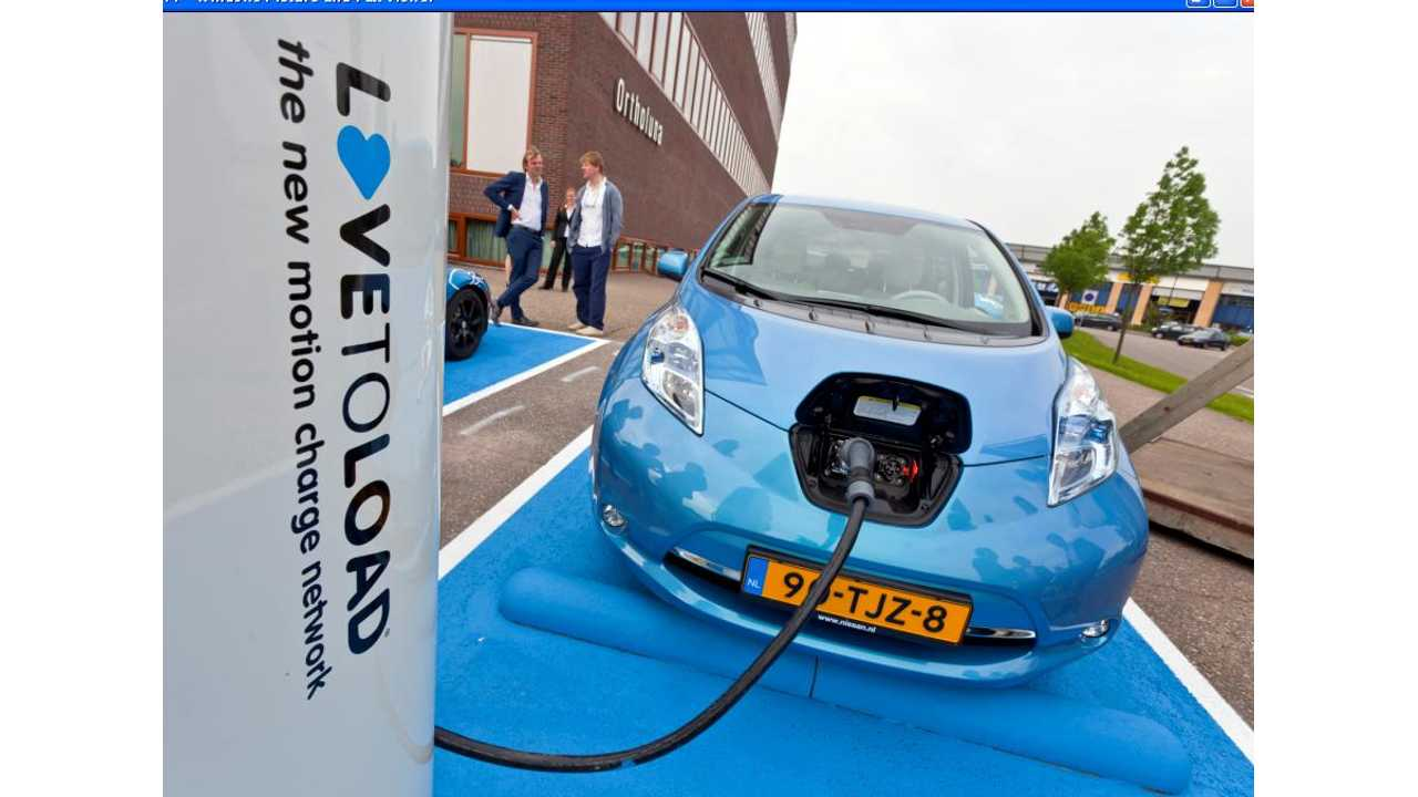 Fast Charge Wars:  Nissan DONATES 400 CHAdeMO Fast Chargers to Europe