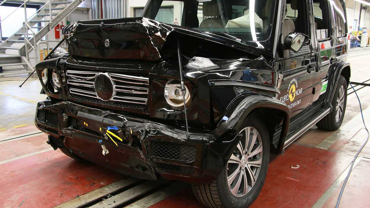 2018 Mercedes G-Klasse, Euro NCAP-Crashtest