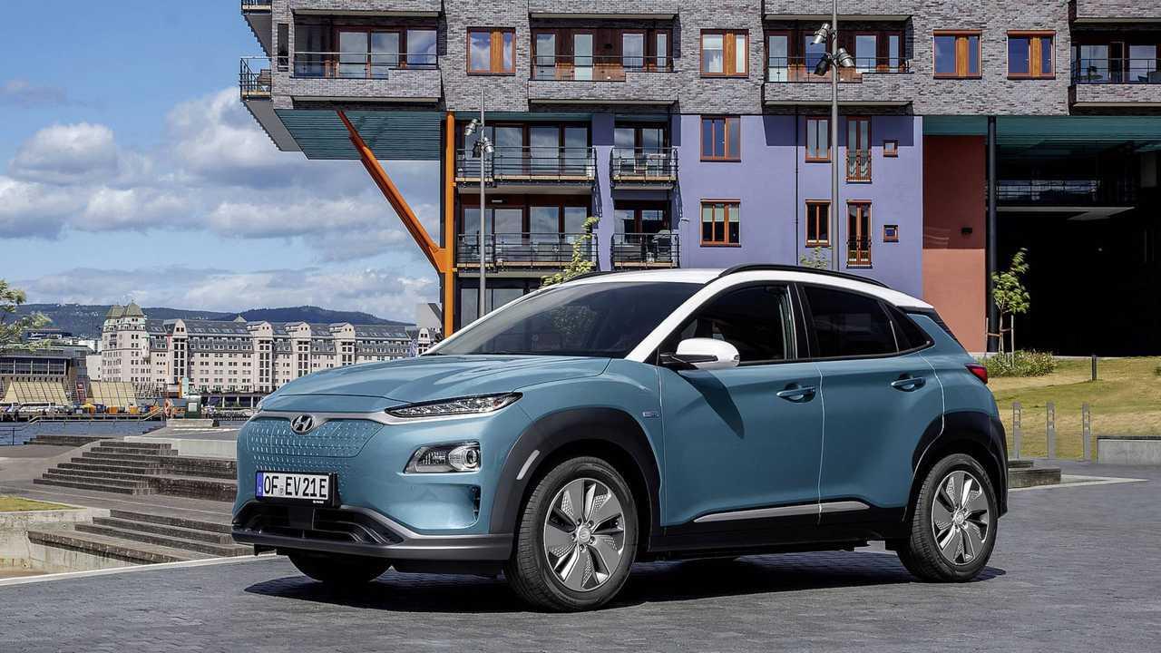 Hyundai Kona Elektro: über 480 Kilometer