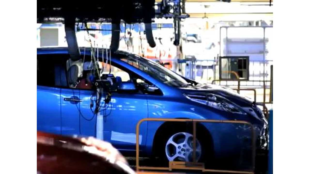 Nissan Readies eMotor Production For LEAF In The US (Video Proof)