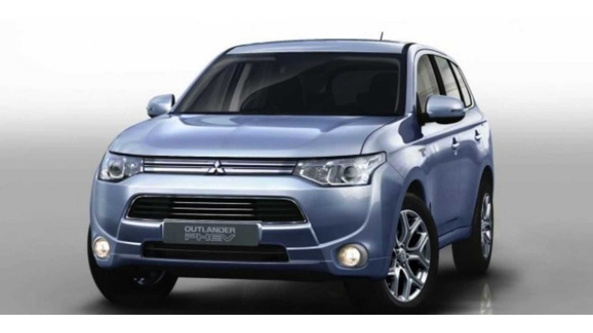 Mitsubishi Outlander Plug-In Specs Revealed, Debuts In Paris This