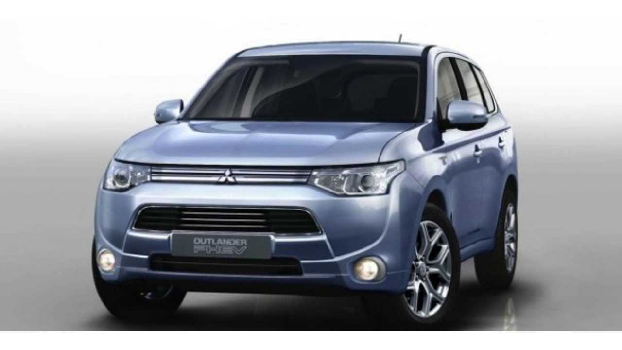 Mitsubishi Outlander Plug-In Specs Revealed, Debuts In Paris This Month (Video)