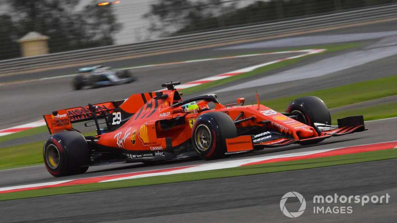 Mick Schumacher at Bahrain April 2019 testing