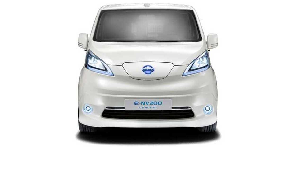 Nissan e-NV200 Electric Van Nears Production, Panel Version Debuts